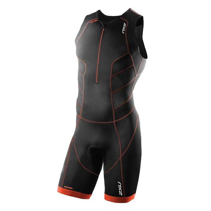 Body triathlon 2XU Perform noir-orange