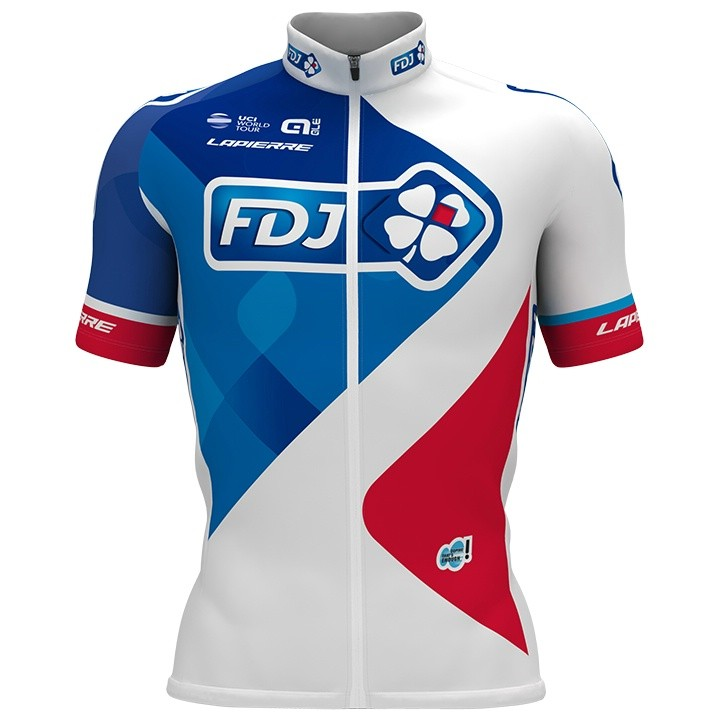 2017 Maillot manches courtes FDJ