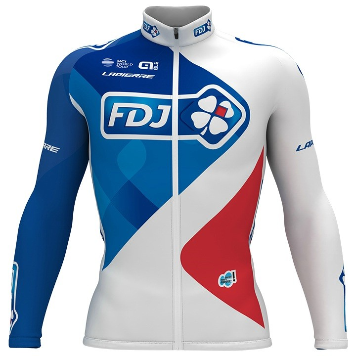 2017 Maillot manches longues FDJ
