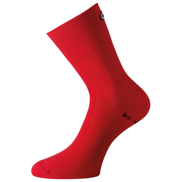 Chaussettes ASSOS Mille GT nationalRed
