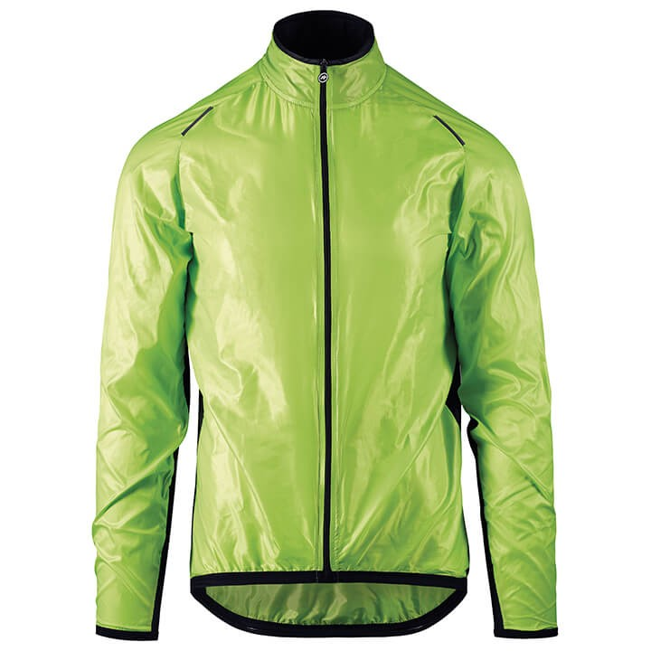 Coupe-vent ASSOS BlitzJacket Mille GT visibilityGreen