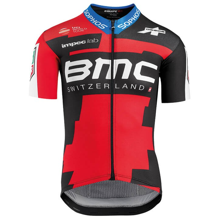 2018 Maillot manches courtes BMC RACING TEAM PRO