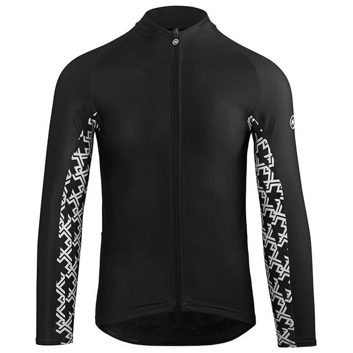 Maillot manches longues ASSOS TiburuJersey Mille GT blackSeries