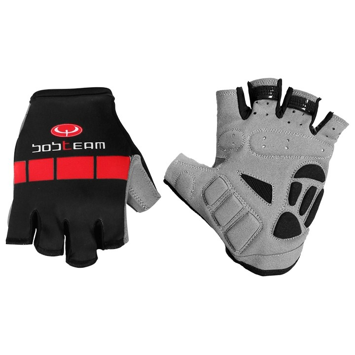 Gants BOBTEAM COLORS noir-rouge