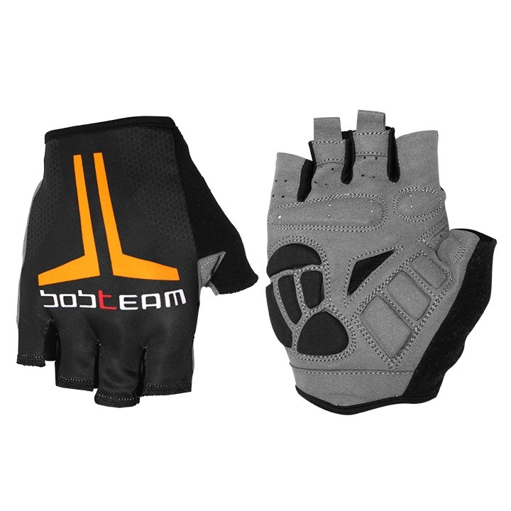 Gants BOBTEAM EVOLUTION 2.0 noirs-oranges