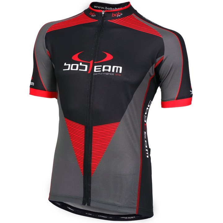Maillot manches courtes BOBTEAM PERFORMANCE LINE II titane