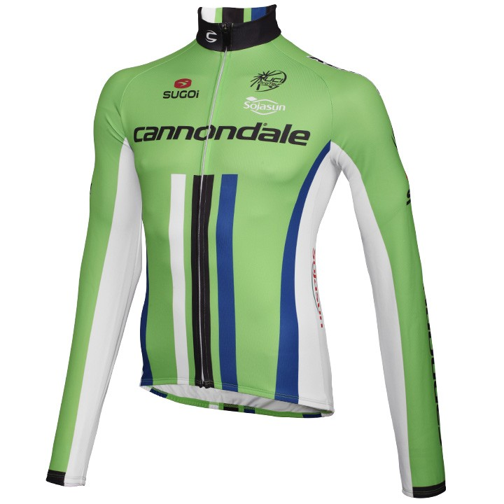 2014 Maillot manches longues CANNONDALE PRO CYCLING vert