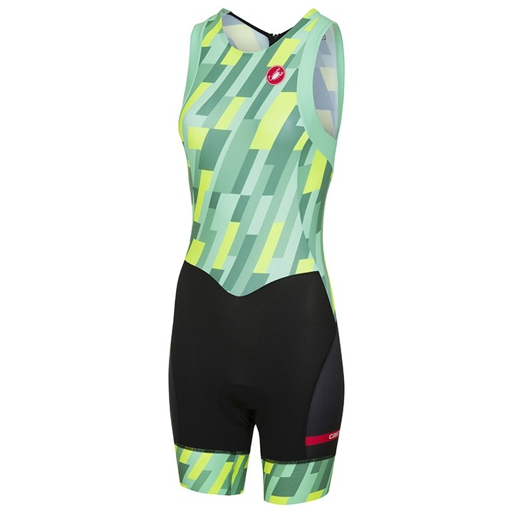 Body triathlon sans manches femme CASTELLI Short Distance