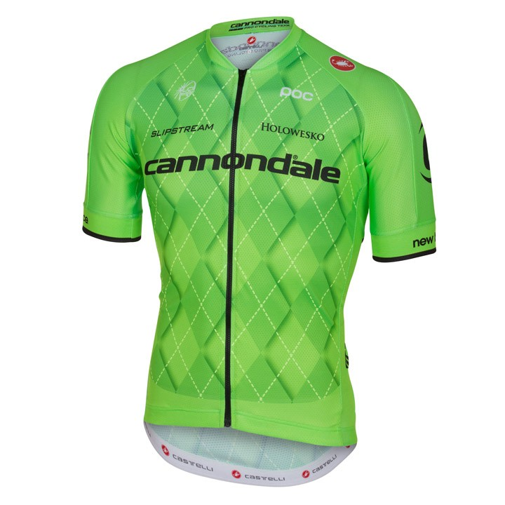 2016 Maillot manches courtes CANNONDALE PRO CYCLING TEAM