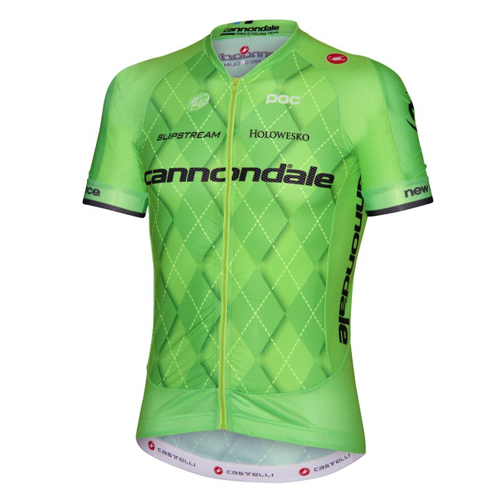 2016 Maillot manches courtes CANNONDALE PRO CYCLING TEAM Aero Race