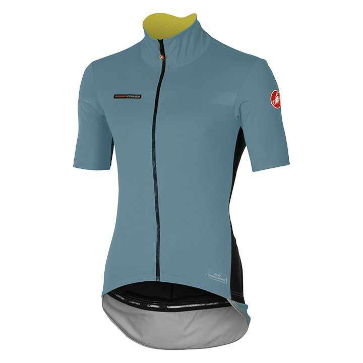 Maillot manches courtes CASTELLI Perfetto Light gris