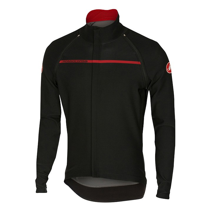 Short Sleeve Jersey, blue courtes CASTELLI Light Jacket Perfetto Convertibile noire
