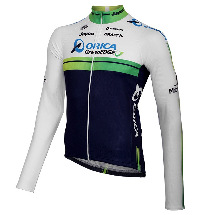 2014 Maillot manches longues ORICA GREENEDGE