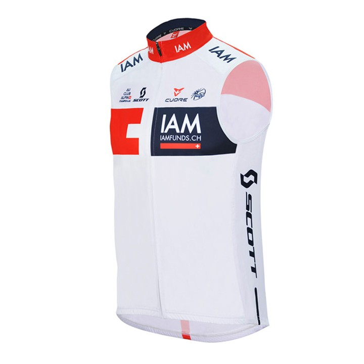 2016 Gilet coupe-vent IAM CYCLING TEAM
