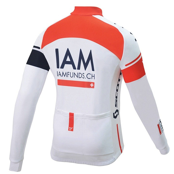 2016 Maillot maches longues enfant IAM CYCLING TEAM