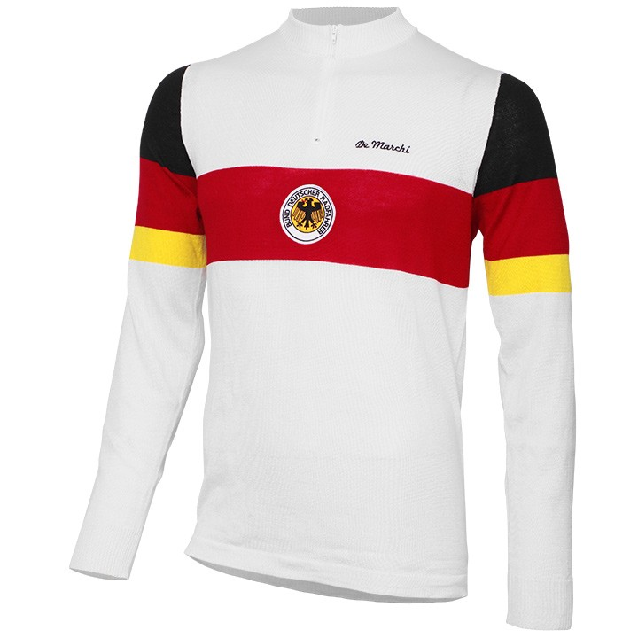 Maillot manches longues DE MARCHI Heritage Merino Germany