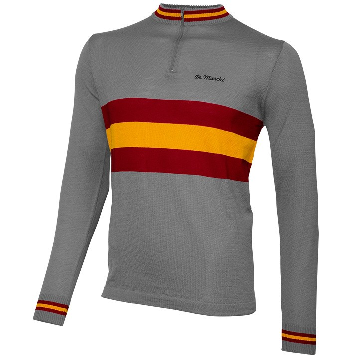 Maillot manches longues DE MARCHI Heritage Merino Spain
