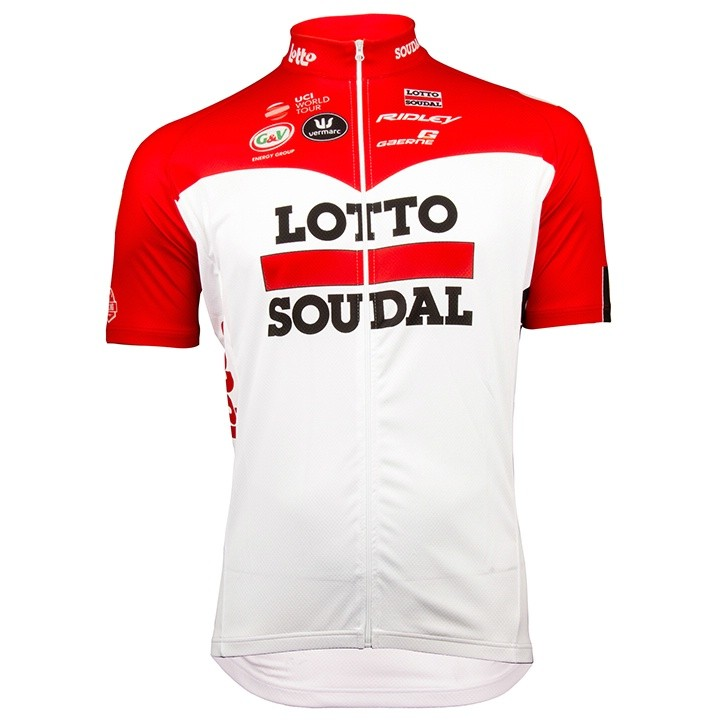 2018 Maillot manches courtes Lotto Soudal