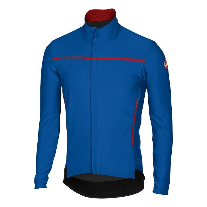 Veste légère CASTELLI Light Jacket Perfetto bleue