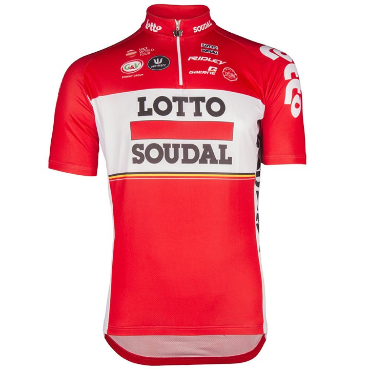2017 Maillot manches courtes LOTTO SOUDAL