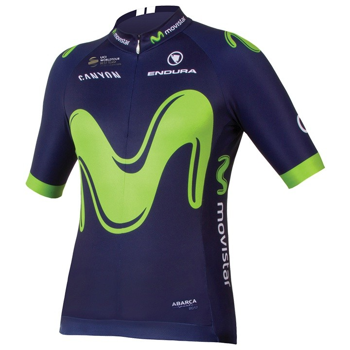 2017 Maillot manches courtes MOVISTAR TEAM
