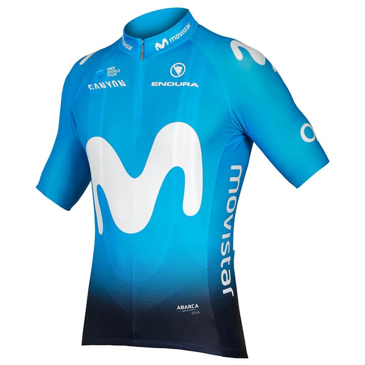 2018 Maillot manches courtes MOVISTAR TEAM