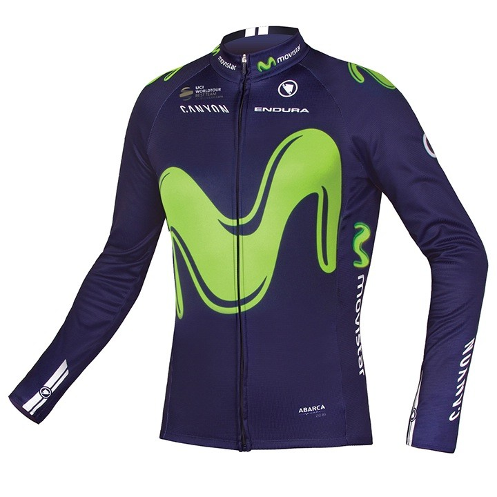 2017 Maillot manches longues MOVISTAR TEAM