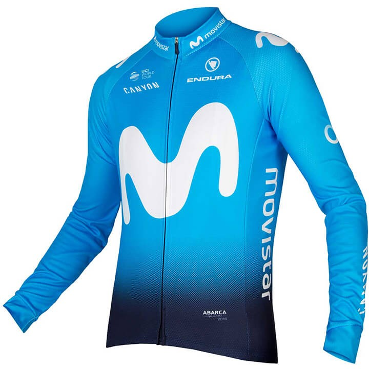 2018 Maillot manches longues MOVISTAR Team