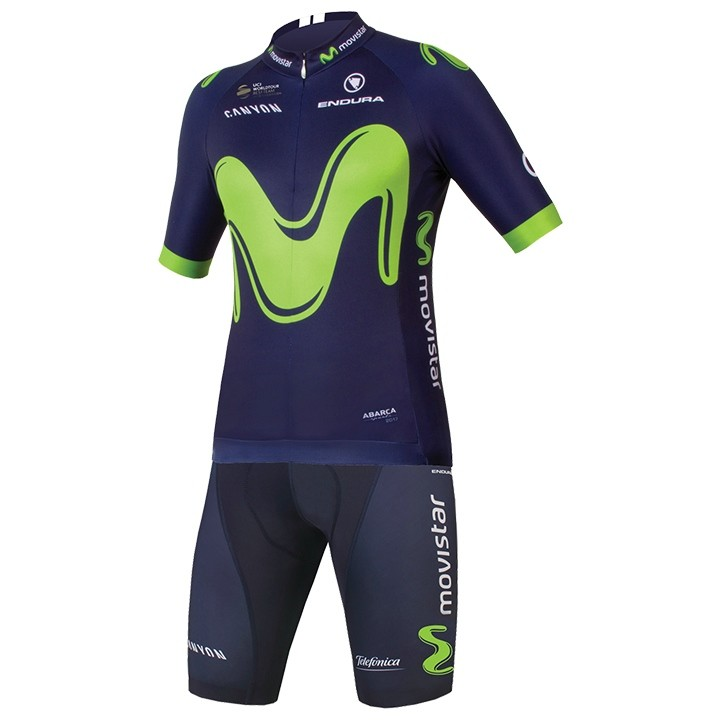 2017 Set (2 pièces) MOVISTAR TEAM