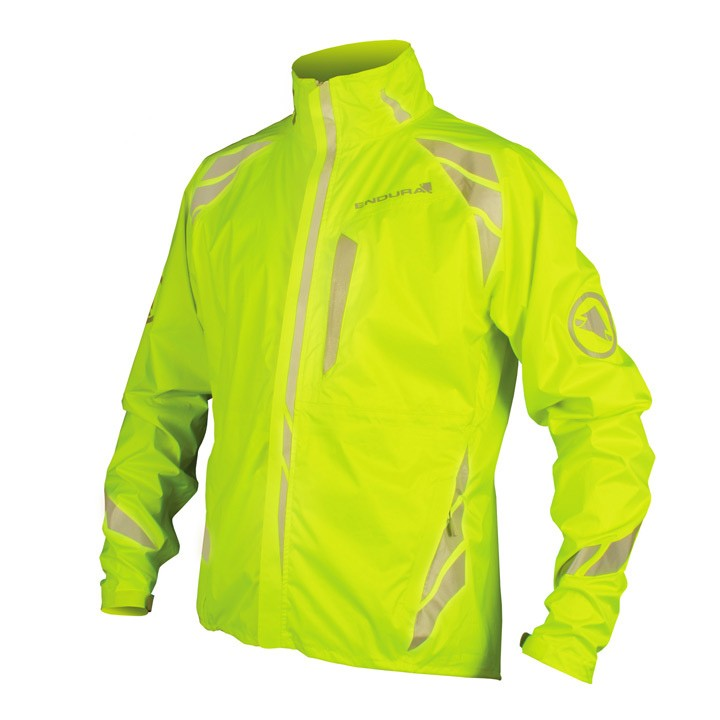 Veste imperméable ENDURA Luminite jaune néon