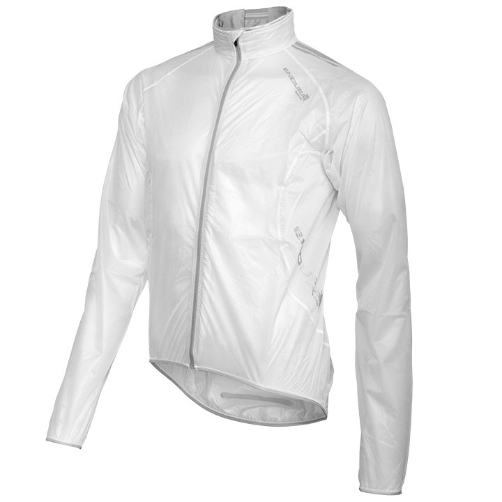 Veste imperméable ENDURA PRO Adrenalin Race Cape blanche