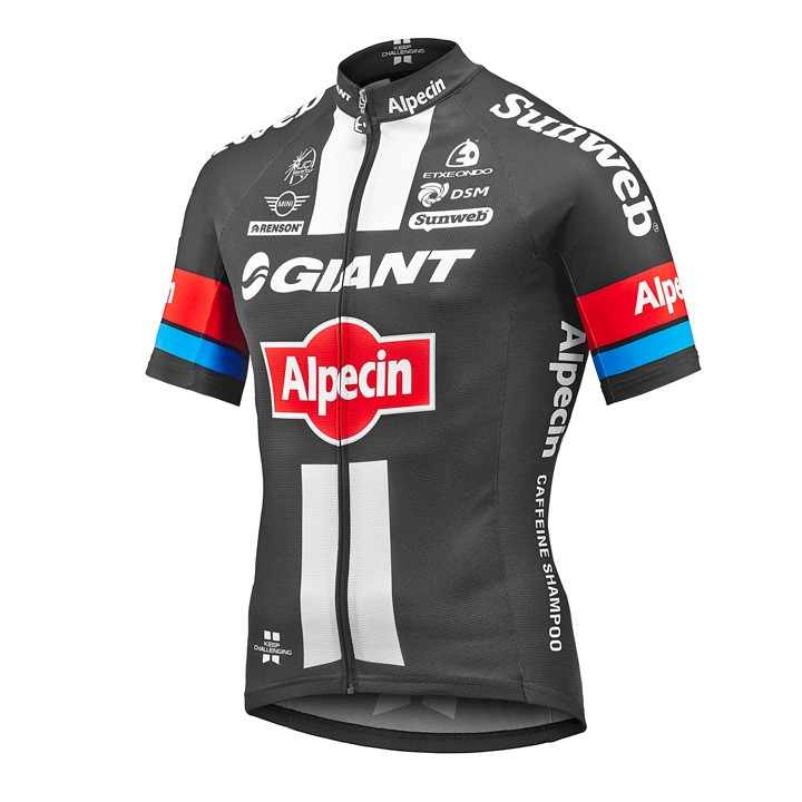 2016 Maillot manches courtes GIANT-ALPECIN Race Edition
