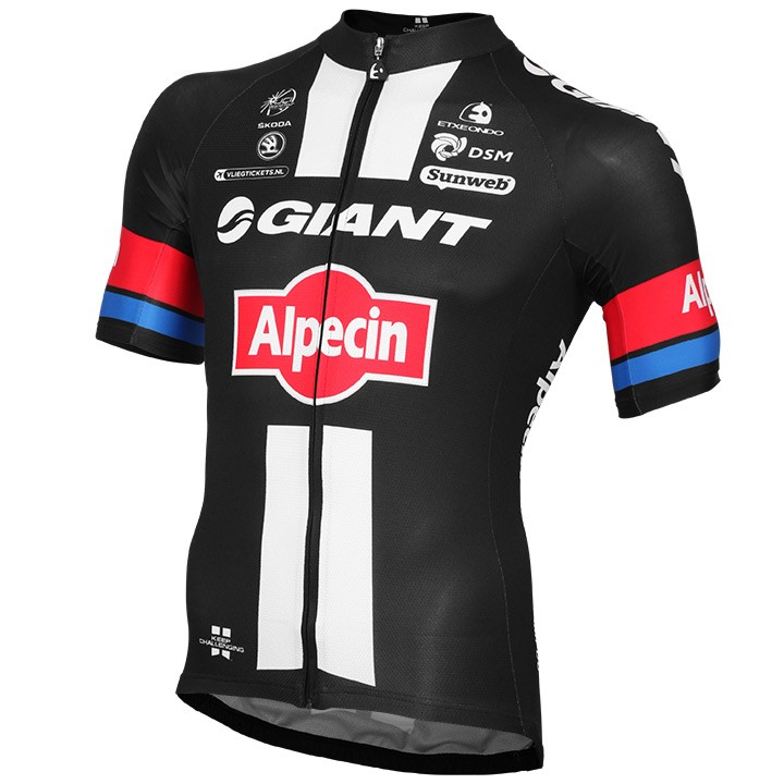 2015 Maillot manches courtes GIANT-ALPECIN Race