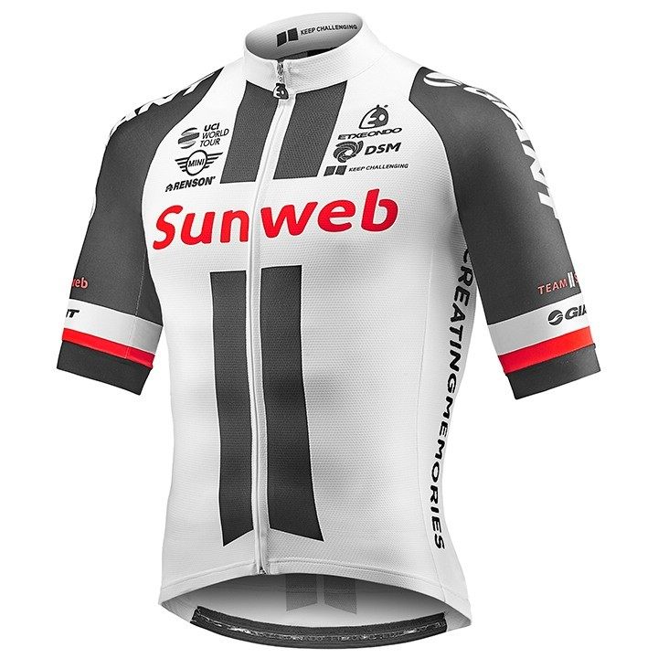 2017 Maillot manches courtes TEAM SUNWEB Race Edition