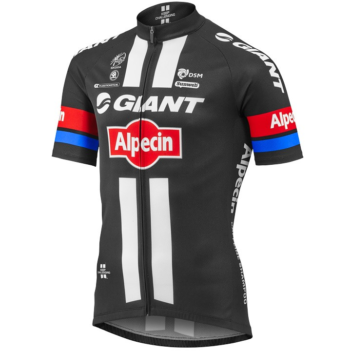 2016 Maillot manches courtes GIANT-ALPECIN