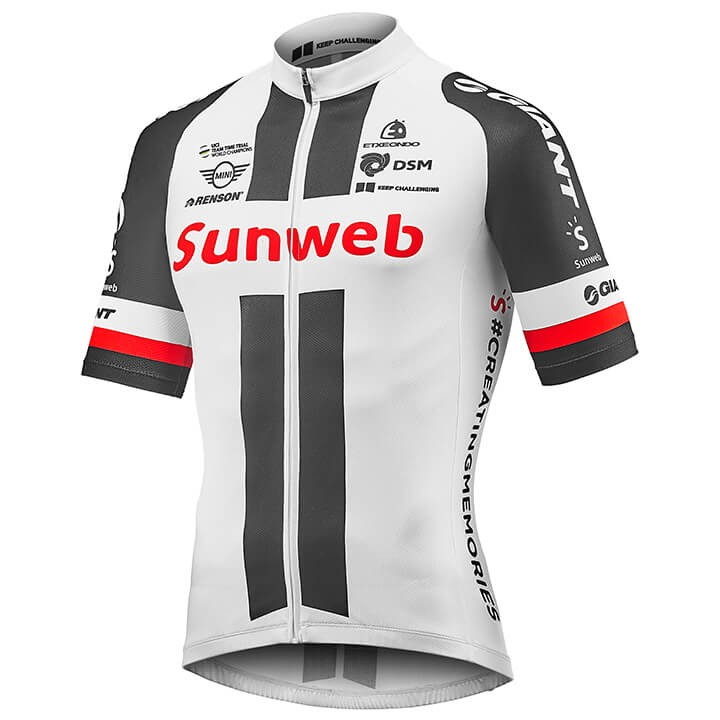 2018 Maillot manches courtes TEAM SUNWEB