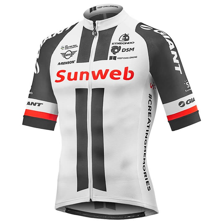 2018 Maillot manches courtes TEAM SUNWEB RACE