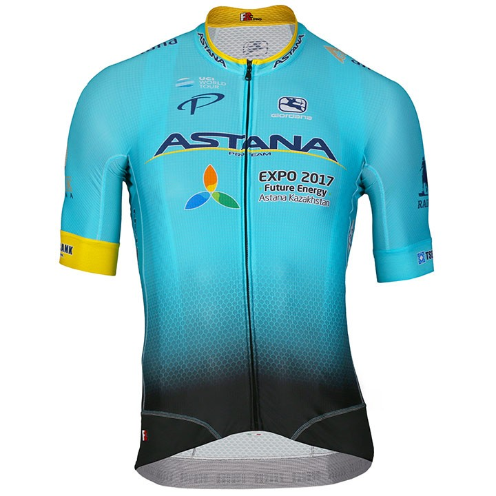 2017 Maillot manches courtes FRC ASTANA PRO TEAM
