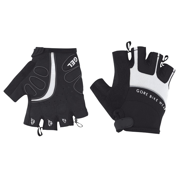 Gants femme GORE BIKE WEAR Power noirs-blancs