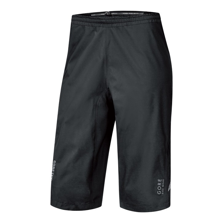 Short imperméable GORE BIKE WEAR Element GT Paclite noir