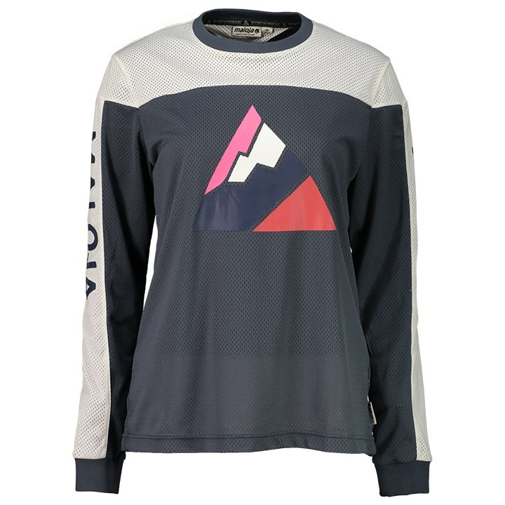 Maillot manches longues freeride femme MALOJA AlpenasterM.