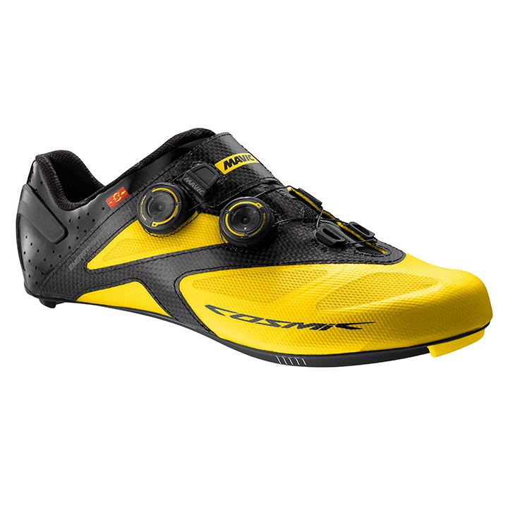 2017 Chaussures route MAVIC Cosmic Ultimate jaunes-noires