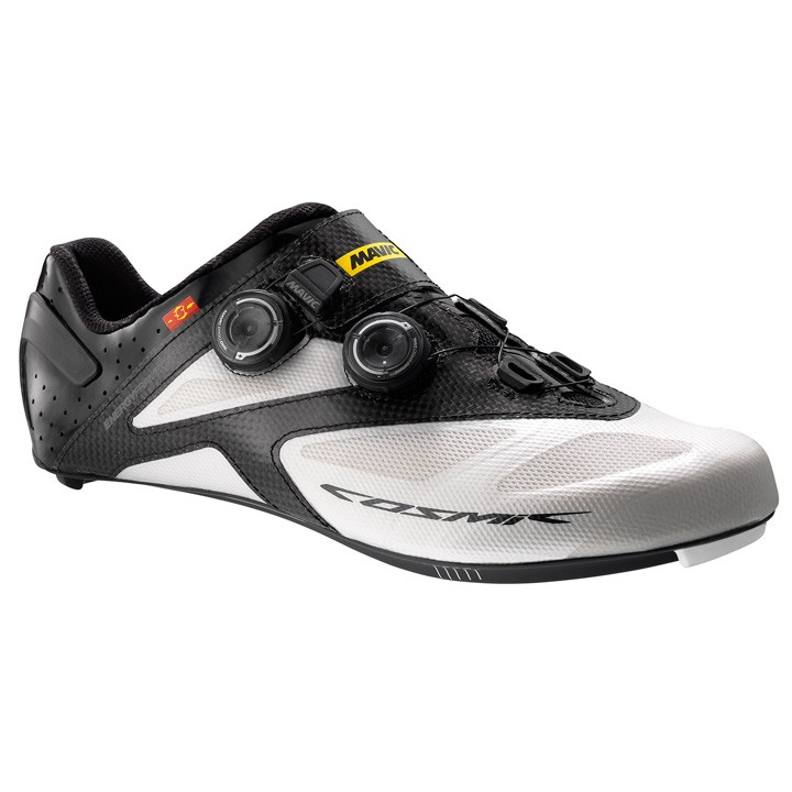 2018 Chaussures route MAVIC Cosmic Ultimate blanches-noires