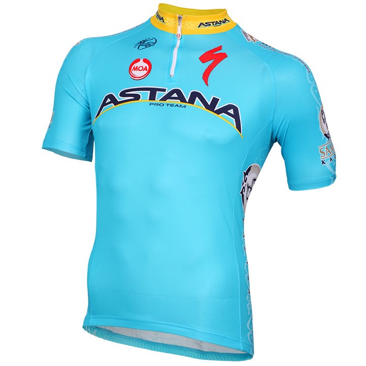 2015 Maillot manches courtes ASTANA PRO TEAM