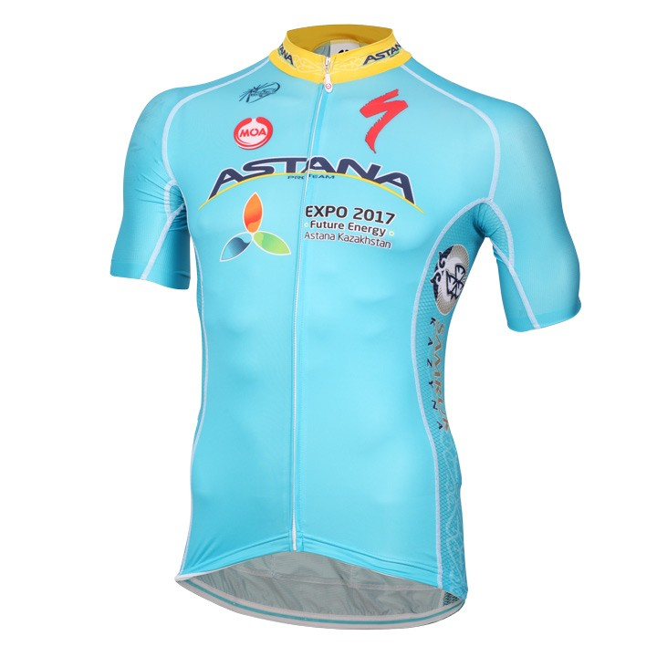 2016 Maillot manches courtes ASTANA PRO TEAM Race Edition
