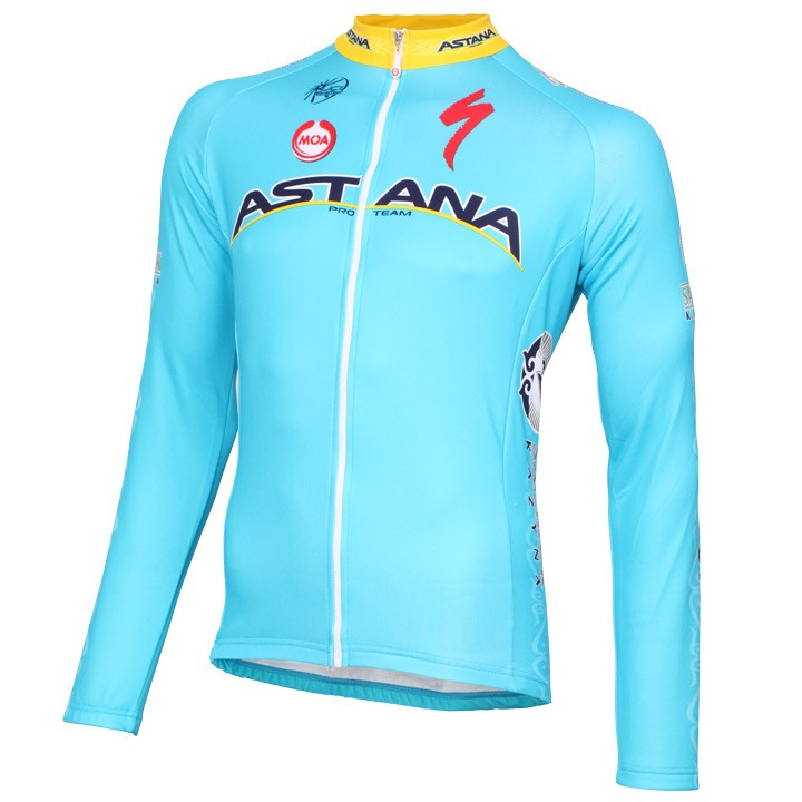 2015 Maillot manches longues ASTANA PRO TEAM