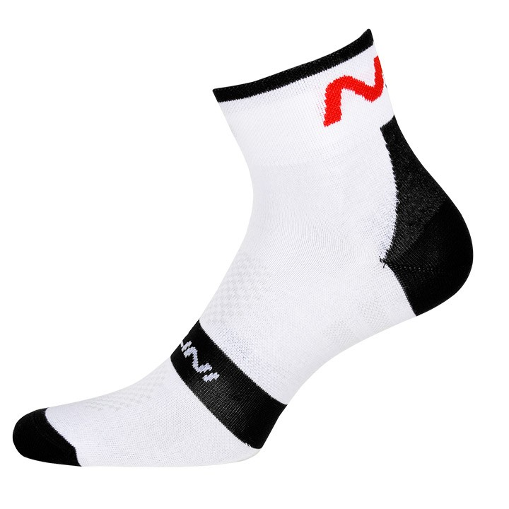 Chaussettes NALINI PRO Na blanches-noires