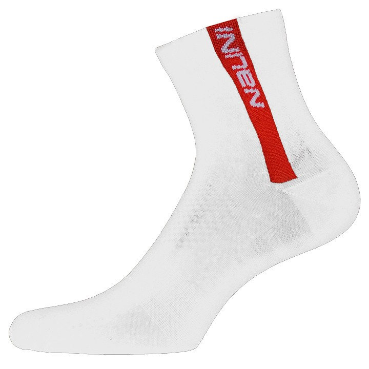 Chaussettes NALINI PRO Red blanches-rouges