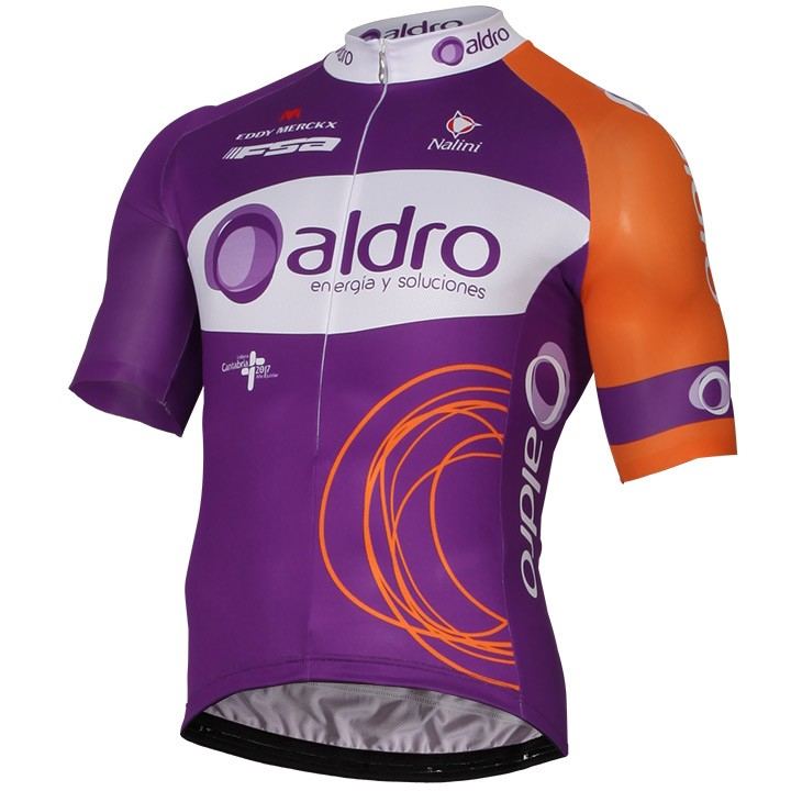 2017 Maillot manches courtes ALDRO TEAM