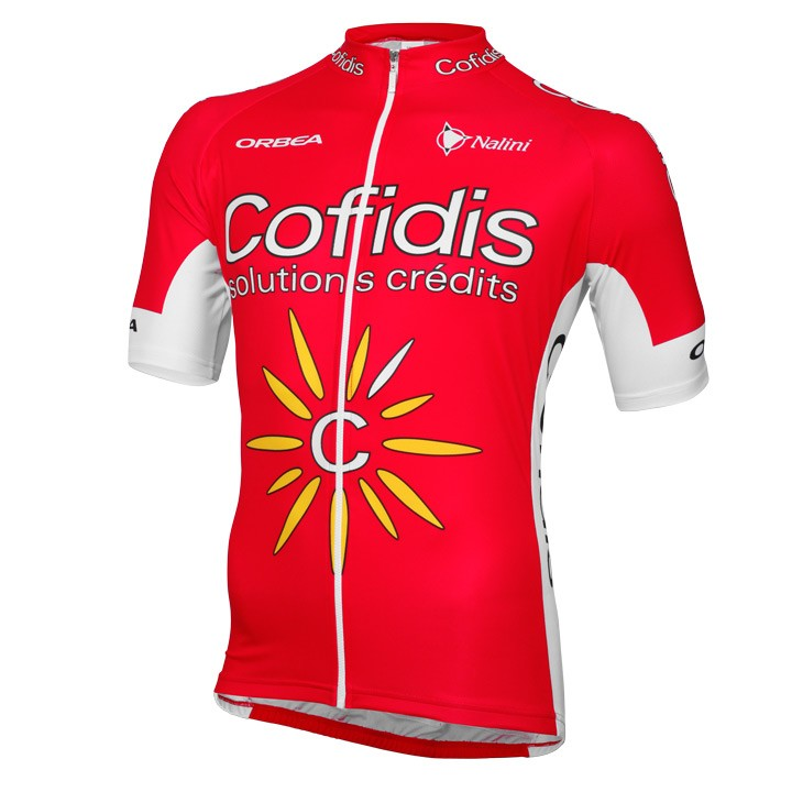 2016 Maillot manches courtes COFIDIS